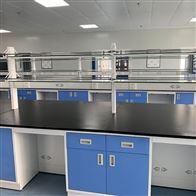 YJ20化验室全钢实验台-钢木操作台