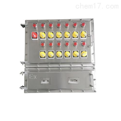 BEC56-A6D6K2G防爆操作柱不锈钢材质 六钮六灯二开关