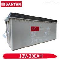 12v200AH山特ups蓄电池 C12-200