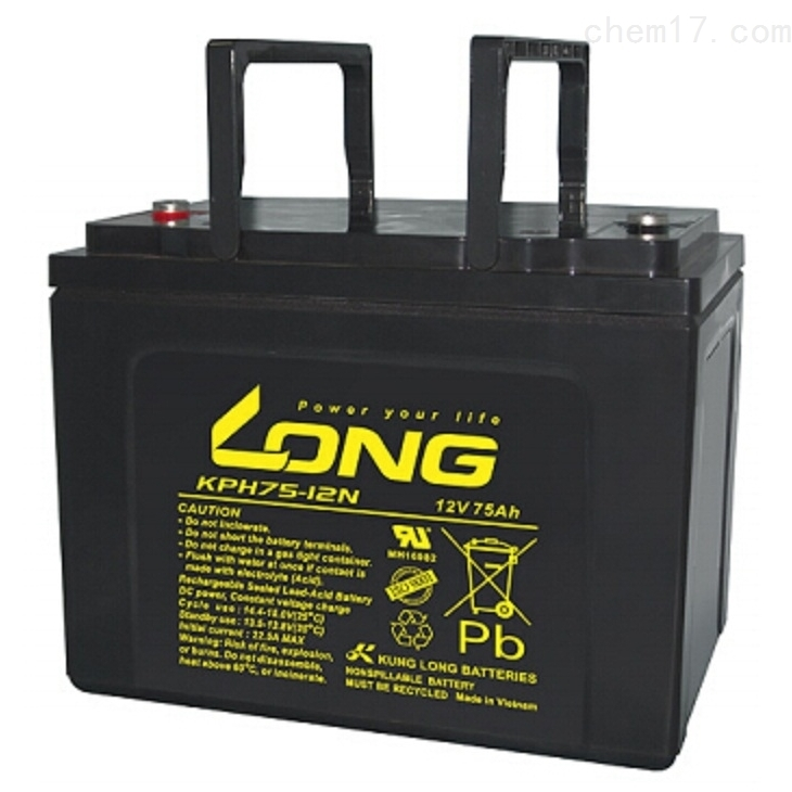 LONG广隆蓄电池KPH75-12N供应商
