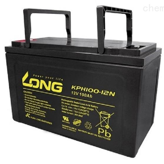 LONG广隆蓄电池KPH100-12N代理商