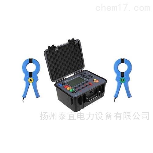 泰宜双钳接地电阻测试仪全套装置