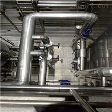齊全304不銹鋼板管道鐵皮保溫現場施工要求