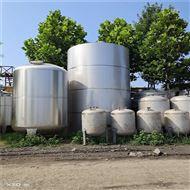 5立方---50立方高價回收二手不銹鋼儲罐