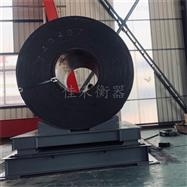 5吨称钢卷三层缓冲秤,带弹簧缓冲电子地磅