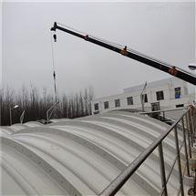 污水池玻璃钢加盖废气除臭设备