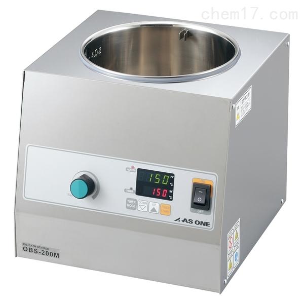 日本进口ASONE亚速旺恒温磁力搅拌油浴锅