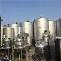 二手不锈钢搅拌罐2000L-10000L低价处理