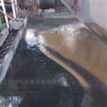 6S60槽沙金岩金矿用摇床