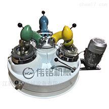 厂家生产小型矿用高校实验室三头研磨机