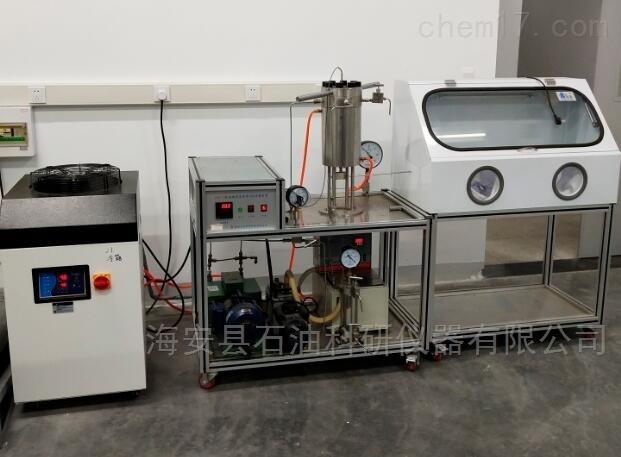 高密度CO2间隙卧式杀菌实验装置