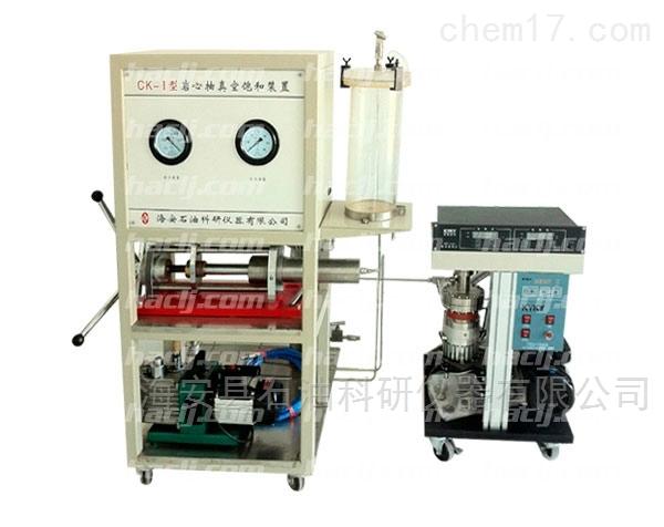 岩心(油、水)抽空加压饱和实验装置