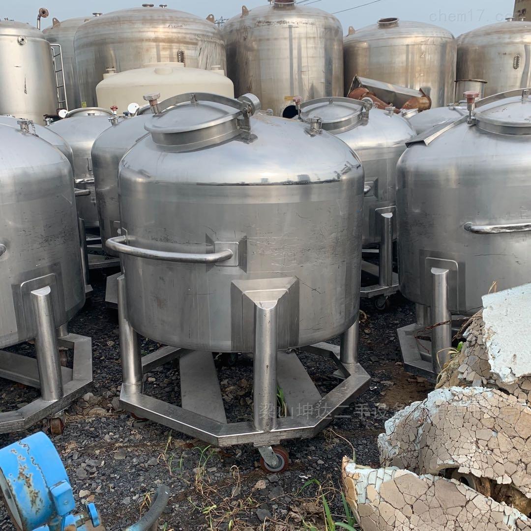 低价转让多台 不锈钢移动储罐