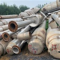 高价回收二手多效浓缩蒸发器 强制循环