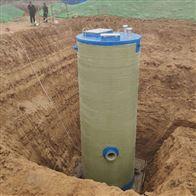 可定制宁夏厂家直供地埋式一体化智能提升泵站设备