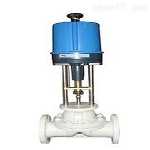 电动衬氟单座调节阀性能可靠