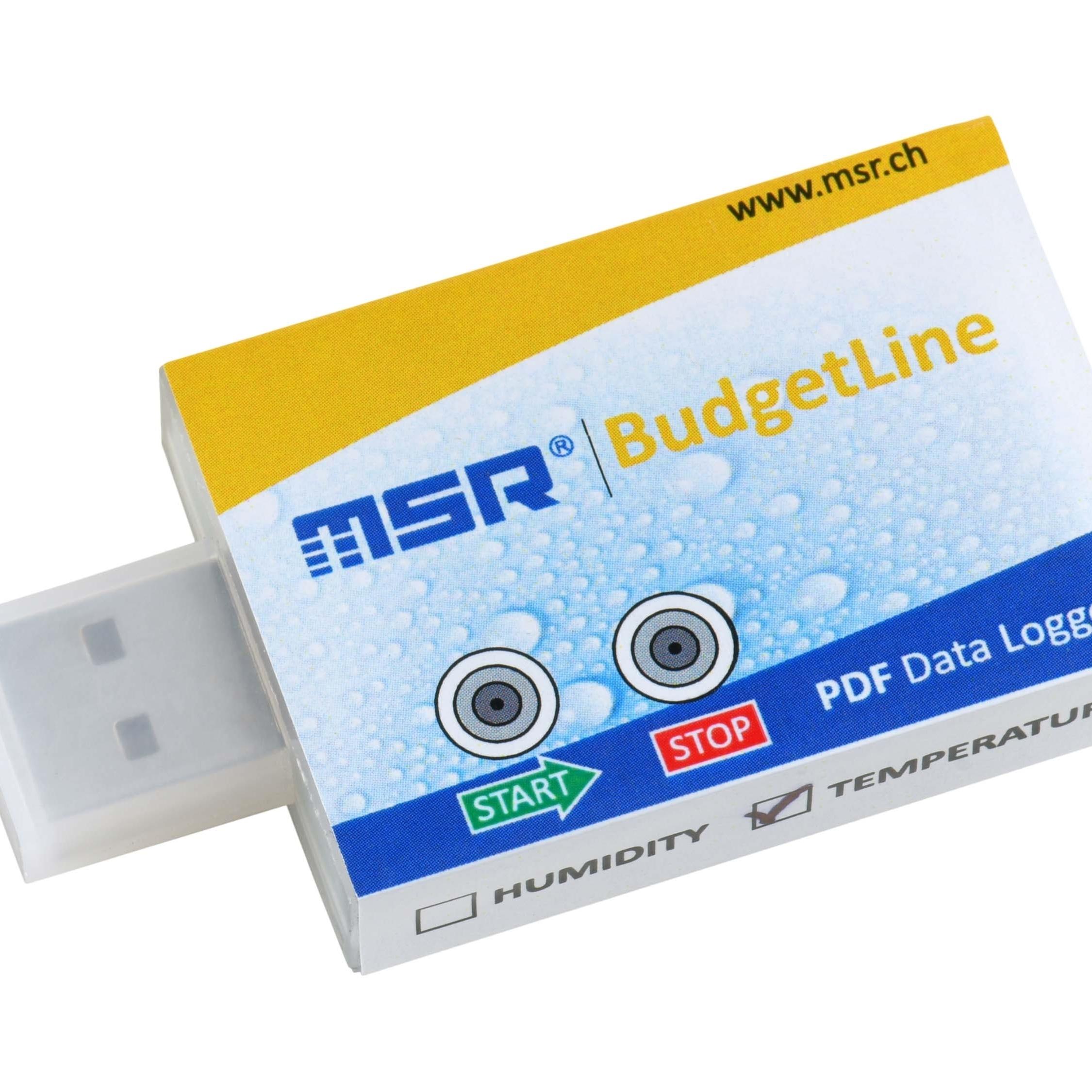 瑞士MSR可重复使用的经济型PDF数据记录仪