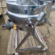 二手300L蒸汽夹层锅