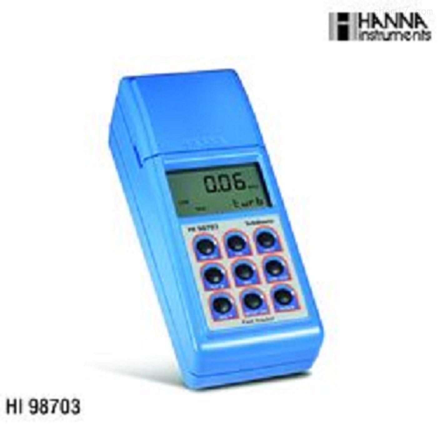 高精度浊度分析测定仪