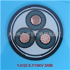 MYJV22电缆煤矿用高压MYJV22矿用铠装地埋电力电缆