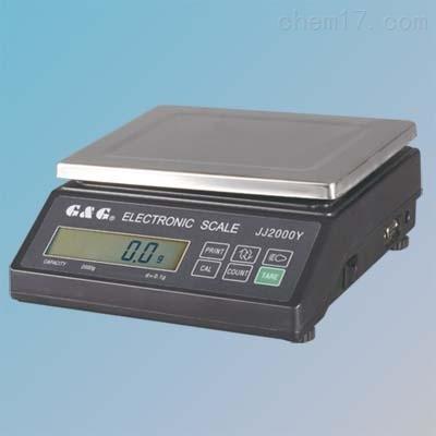 JJ3000Y电子天平3kg/0.1g带RS232电脑接口
