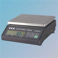 JJ2000Y电子天平2kg/0.1g带RS232数据通信