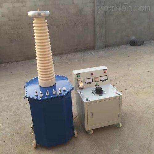 抗干扰油浸式高压试验变压器