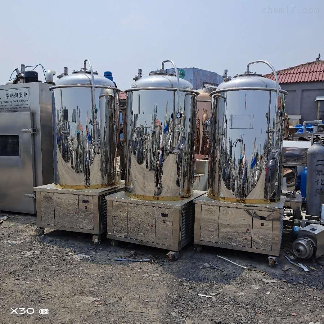 本公司常年供应二手不锈钢发酵罐耐腐蚀