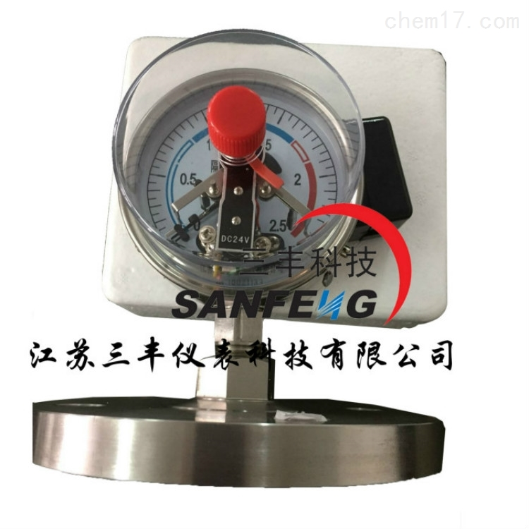 螺纹隔膜压力表