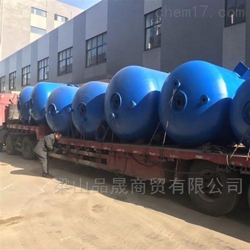 专业回收二手外(内)盘搪瓷反应釜