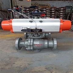 Q647H-16C-100气动硬密封球阀