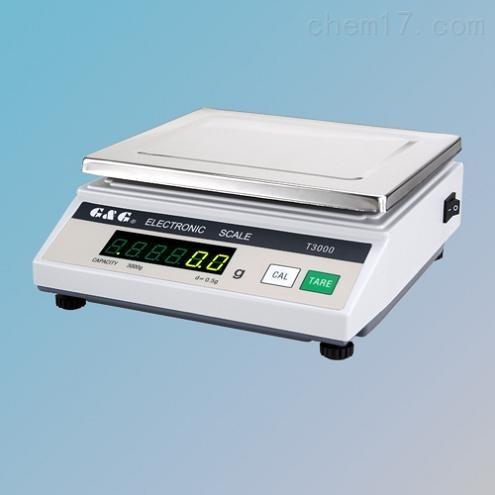 双杰电子天平2000g 0.5g