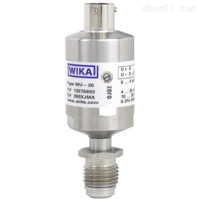 WIKA威卡超高纯度应用的传感器