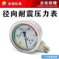 径向耐震压力表厂家价格型号 304 316L