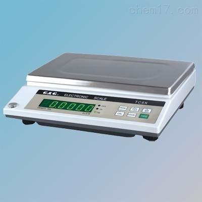 双杰TC6KA电子秤6kg/1g带RS232数据输出