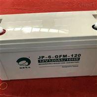 12V120AH劲博蓄电池JP-6-GFM-120含税运