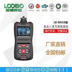 LBMLB-MS5X泵吸五合一多气体检测仪