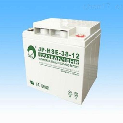 劲博蓄电池JP-HSE-38-12销售
