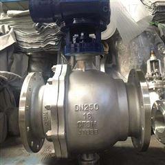 Q347H-16P-250不锈钢固定式硬密封球阀