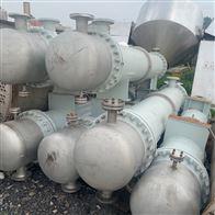 大量回收二手不锈钢列管式冷凝器