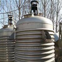 多种型号二手内外盘管不锈钢反应釜出售
