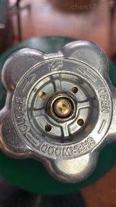美国SHERWOOD阀门代理CGA540氧气瓶阀
