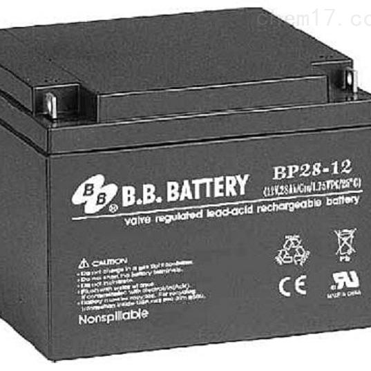 台湾BB蓄电池BP28-12区域销售