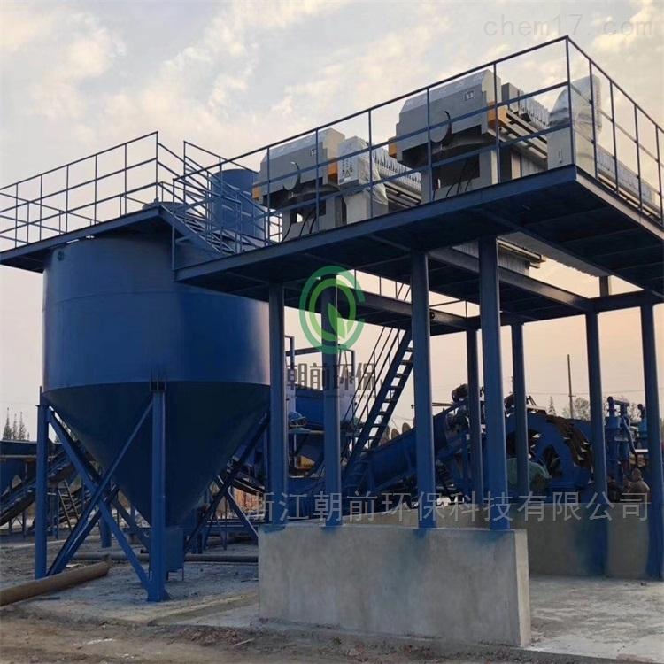 石料厂洗砂制砂泥浆污水处理工程总承包