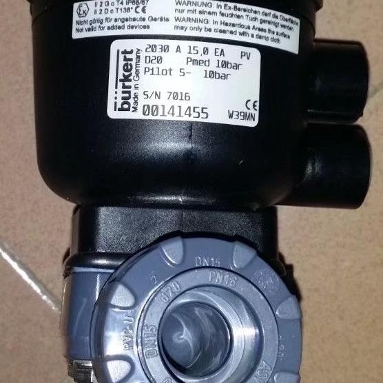 德国BURKERT隔膜阀原装正品