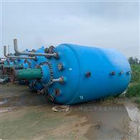 20吨长期调剂回收二手搪瓷反应釜
