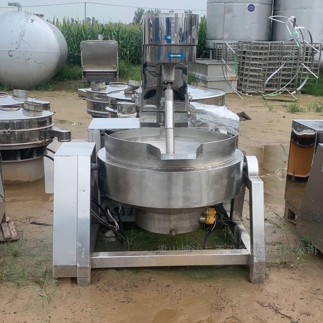 长期调剂回收二手行星夹层锅炒锅