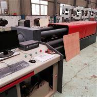 微机控制风电紧固件卧式张拉试验机自动送料