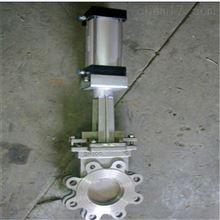 PZ673F-10P气动不锈钢刀闸阀厂家直销