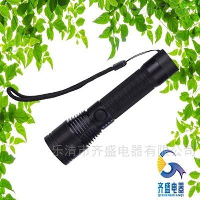 JW7632无线充电强光电筒/强光巡检电筒